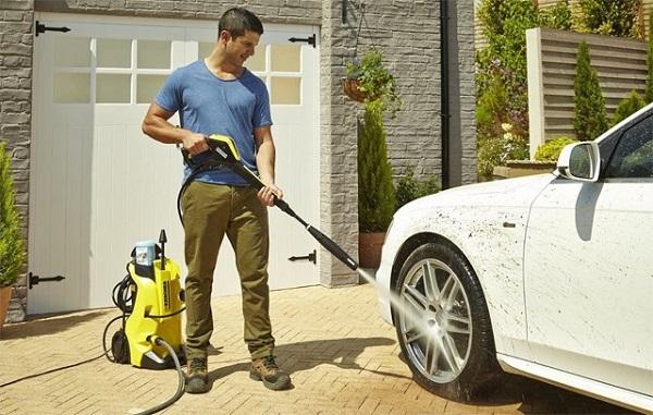 Chuẩn bị nguồn nước cho máy rửa xe