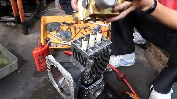 Lỗi máy rửa xe gia đình hoạt động yếu