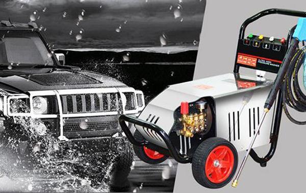 Máy rửa xe cao áp chính hãng
