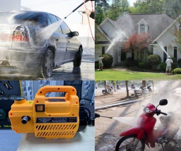 Những công dụng nổi bật của máy rửa xe trong đời sống