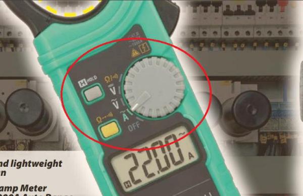 Giải mã các phím chức năng thường gặp trên ampe kìm