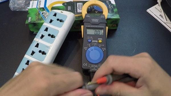 Khắc phục lỗi ampe kìm không đo được ampe