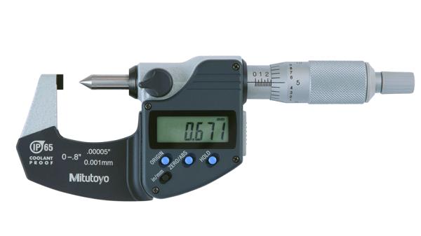 Panme đo ngoài điện tử dải đo 0-20mm Mitutoyo 342-371-30