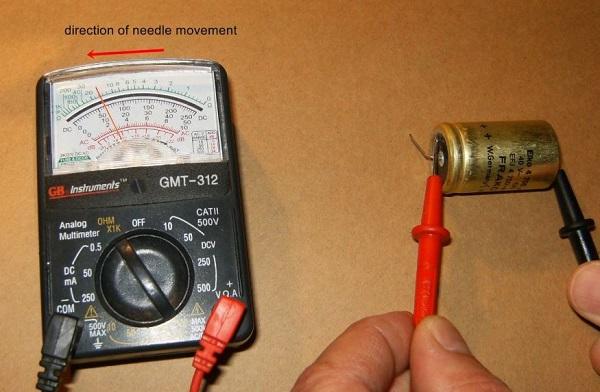 Hướng dẫn kiểm tra tụ điện bằng đồng hồ vạn năng