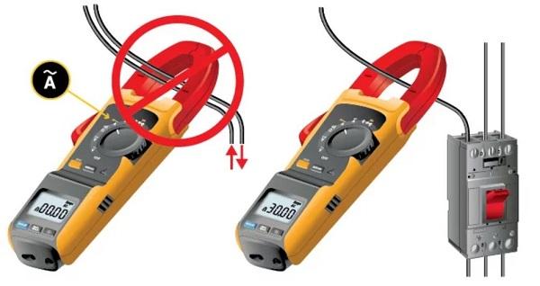 đo dòng điện xoay chiều bằng hàm kẹp