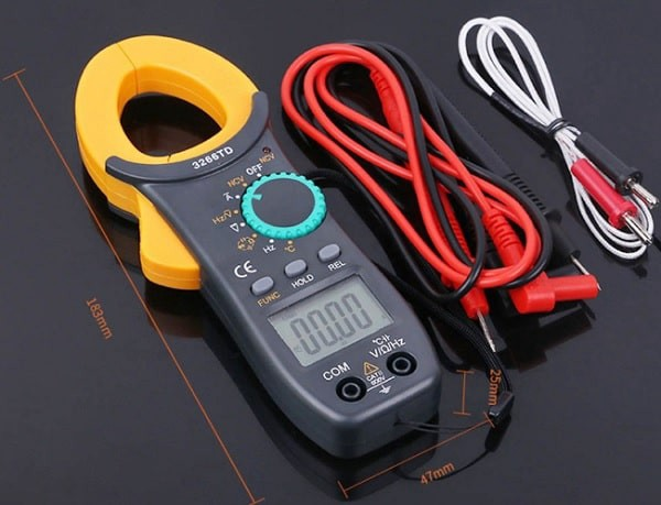 dùng ampe kìm để đo nhiệt độ
