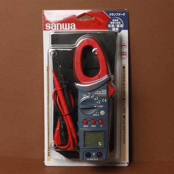 Ampe kìm đo dòng AC/DC Sanwa DCM600DR
