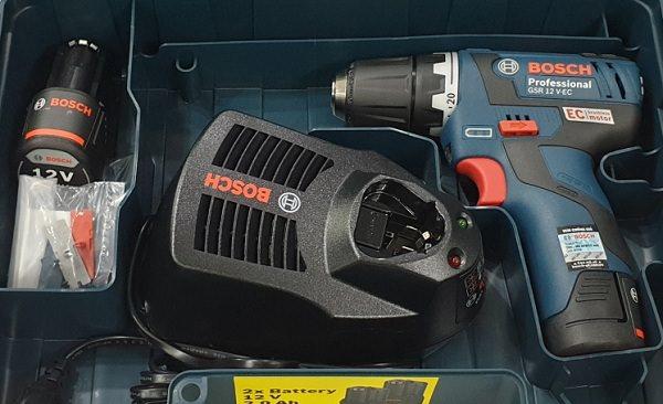 Đặc điểm nổi bật của máy khoan pin Bosch không chổi than
