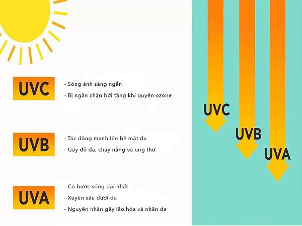 Tia UV ảnh hưởng như thế nào đến sức khỏe con người?