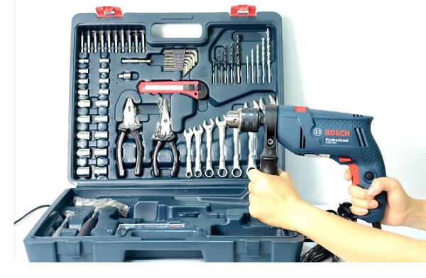 Bộ máy khoan Bosch được thợ sửa chữa chuyên nghiệp lựa chọn?