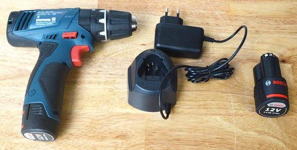 Máy khoan pin Bosch 12V loại nào tốt, dùng bền?