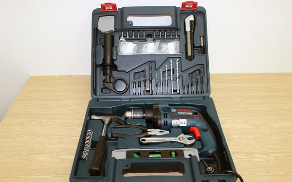 Giá bộ máy khoan Bosch GSB 13RE set 100 giá phù hợp