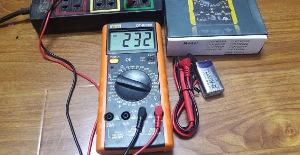 Đo dòng điện bằng đồng hồ vạn năng không quá khó