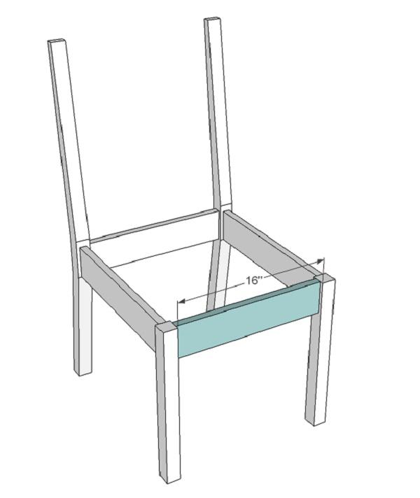 Thực hiện tạo mặt ghế trước và sau