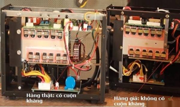 Cuộn kháng trong máy hàn thật đảm bảo hồ quang được hàn ổn định