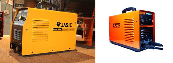 Máy hàn Jasic thật có màu cam