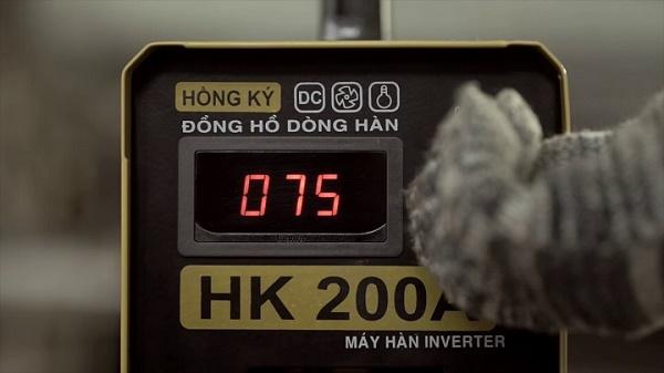 Máy hàn Hồng Ký 200A đảm bảo an toàn khi sử dụng