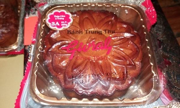 Hạn sử dụng được in trên bao bì của bánh Trung Thu