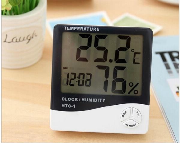 Máy đo độ ẩm giúp bạn nhanh chóng nắm được nhiệt độ/ độ ẩm trong địa điểm xác định