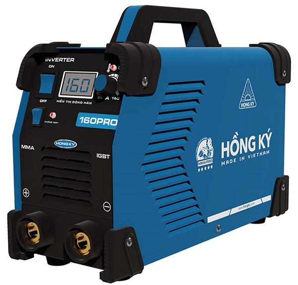 Máy hàn điện tử Hồng Ký MMA 160 PRO - Chống giật