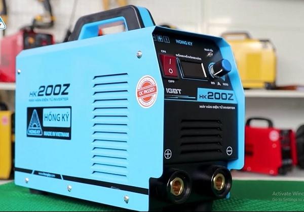 Máy hàn HK200z đến từ thương hiệu Hồng Ký uy tín về chất lượng