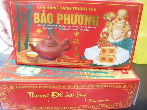 Hộp bánh Trung thu Bảo Phương