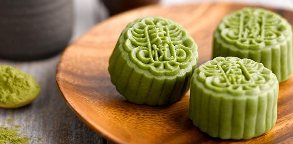 Bánh trung thu trà xanh được nhiều người yêu thích