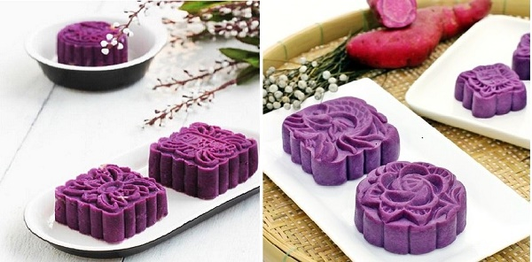 Bánh trung thu khoai lang tím thích hợp cho người tiểu đường