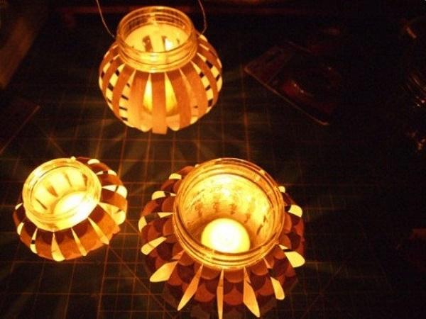 Những chiếc đèn lồng thủy tinh đẹp