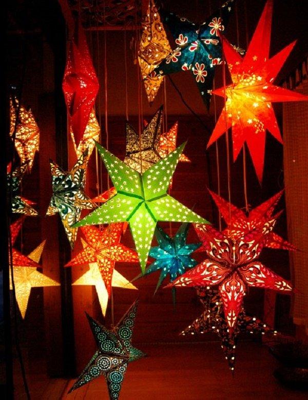 Những chiếc đèn lồng ngôi sao đẹp hấp dẫn các bé