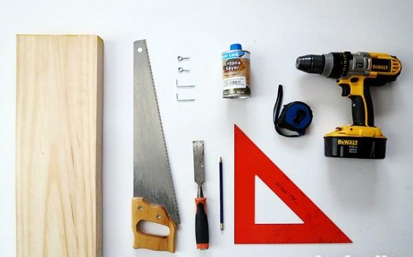 Chuẩn bị các dụng cụ cần thiết