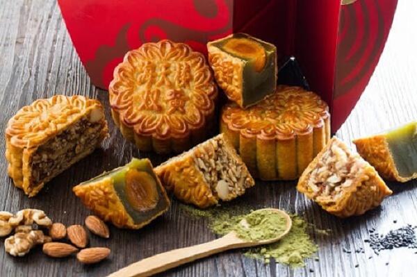 Bánh trung thu dành cho người ăn kiêng từ các loại hạt