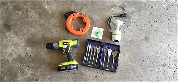 Chuẩn bị đầy đủ các dụng cụ lắp đặt
