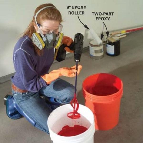 Cách pha sơn nước cần theo đúng tỷ lệ