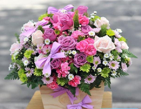 Hoa - quà tặng được các mẹ yêu thích