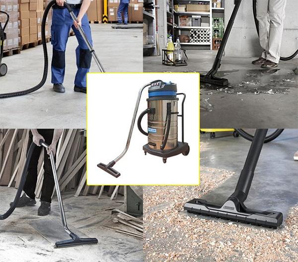 Máy hút bụi nhà xưởng mang giúp làm sạch không gian nhà xưởng