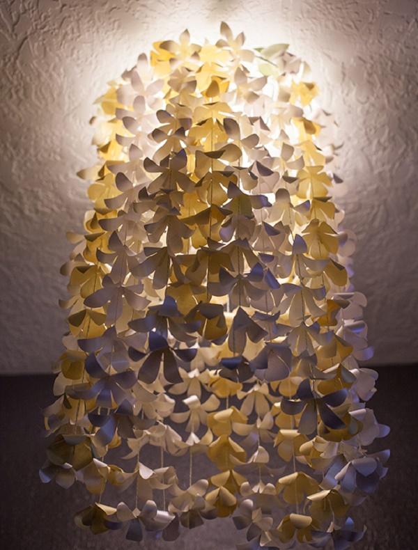 Đèn chùm hoa giấy