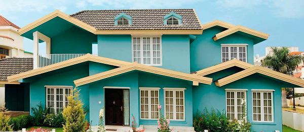 Sử dụng sơn chống thấm bảo vệ cho tường nhà hạn chế chống ẩm