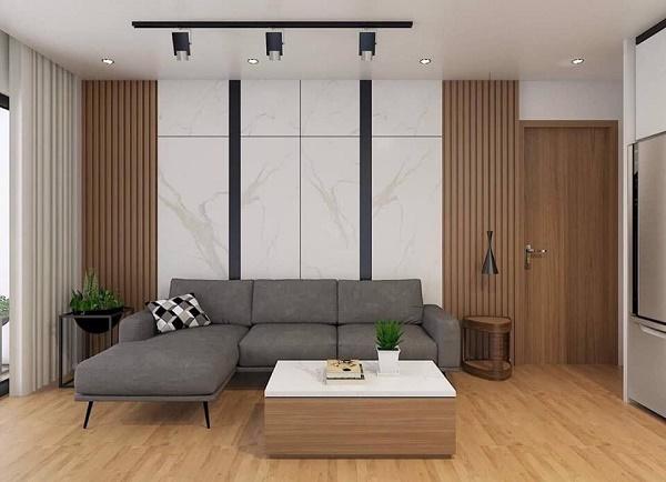 Tấm nhựa ốp tường được ưa chuộng trong trang trí nội thất