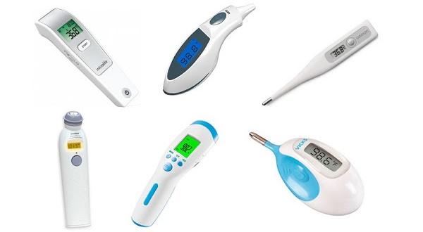 Các loại máy đo nhiệt độ