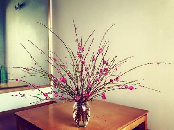 Lựa chọn vị trí thích hợp đặt hoa