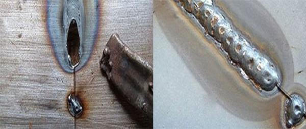 Hàn sắt mỏng thường dễ bị thủng bị lẹm