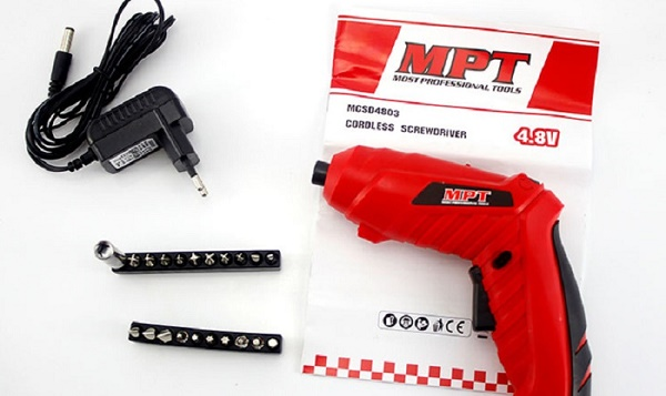Máy bắt vít dùng pin MPT MCSD4803 giá rẻ