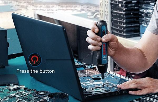 Máy vặn vít đồ điện tử nhỏ gọn, công suất phù hợp