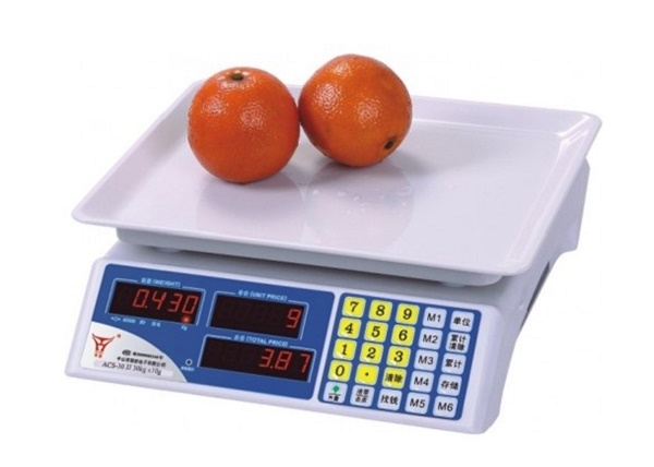 Cân điện tử tính tiền là dòng cân đa chức năng dùng nhiều tại siêu thị