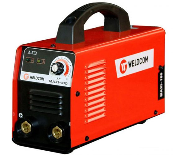 Máy hàn Weldcom 180 sử dụng công nghệ IGBT tiết kiệm điện