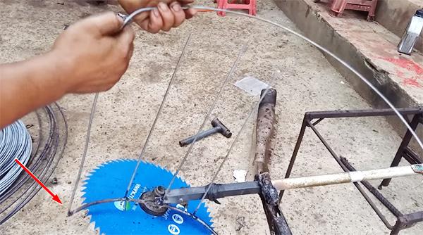 Hướng dẫn hàn lồng cắt lúa cho máy cắt cỏ