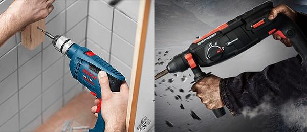Lựa chọn máy khoan tường có chức năng phù hợp