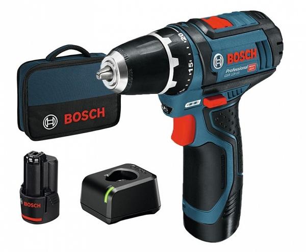 Máy bắt vít dùng pin Bosch GDR 120-LI Kèm phụ kiện