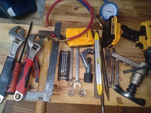 Bộ dụng cụ lắp đặt điều hòa